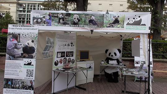 Zootage GPFIN Infostand