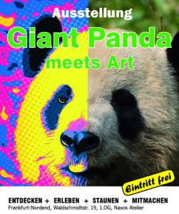 Giant Panda meets Art